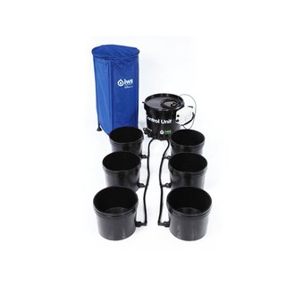 IWS Flood and Drain Basic System 12 POT inkl. Flextank 250l
