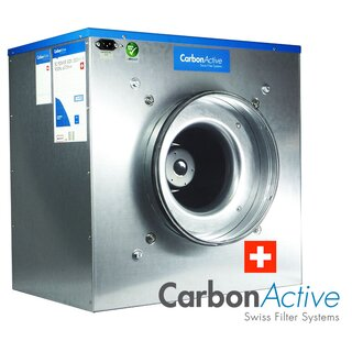 CarbonActive EC Silent Box 5000m³/h 400mm 1400 Pa 400V
